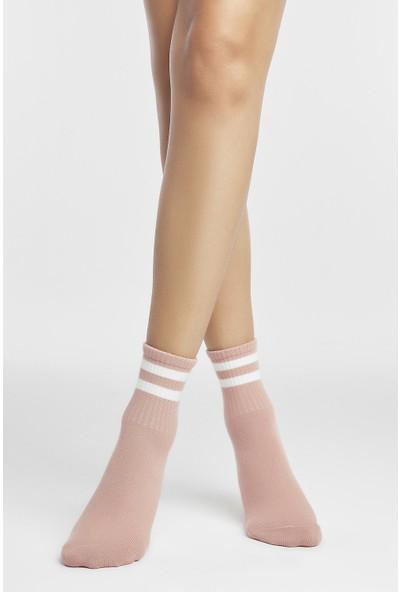 Penti Gül Kurusu Cool Soket Çorap