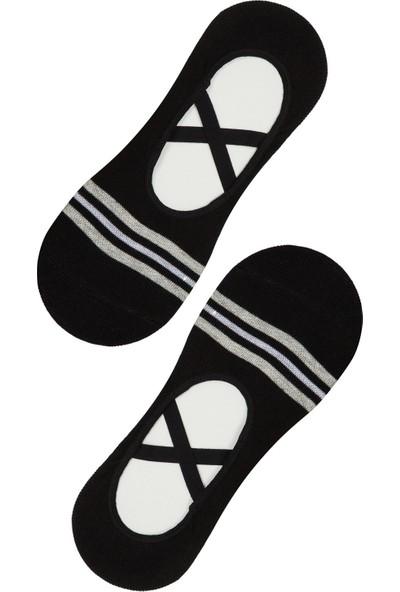 Penti Siyah Active Crossbant Babet Çorabı