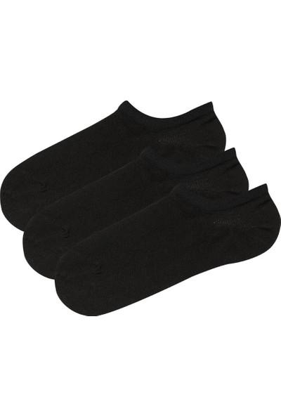 Penti Siyah Super Fit 3lu Babet Çorabı
