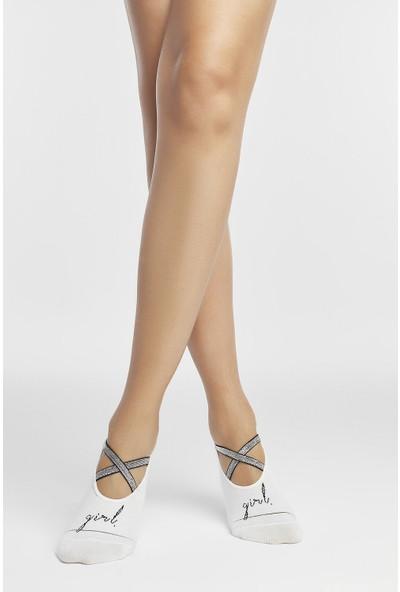Penti Marşmelov Bant Soket Çorap