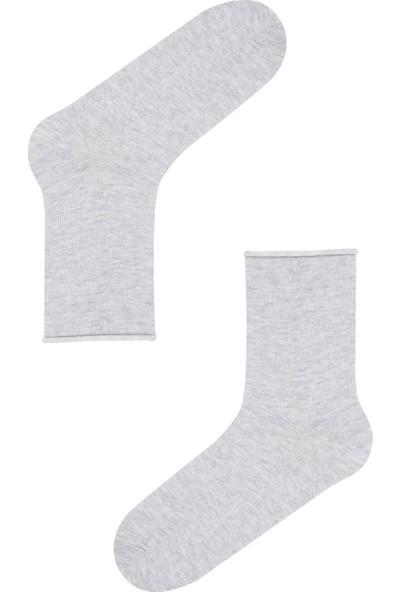 Penti Mavi Simple 4'lü Soket Çorap