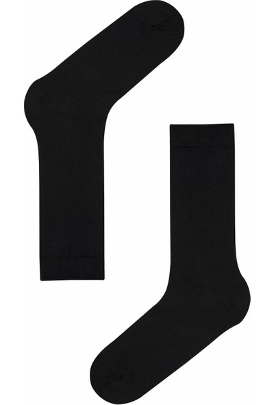 Penti Siyah Erkek Basic 3'lü Soket Çorap