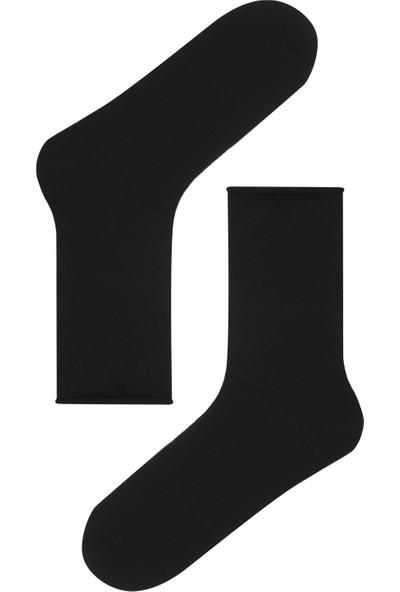 Penti Siyah Simple 4'lü Soket Çorap