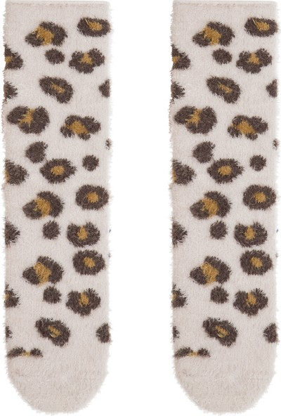 Penti Leopar Light Leopard Soket Çorap