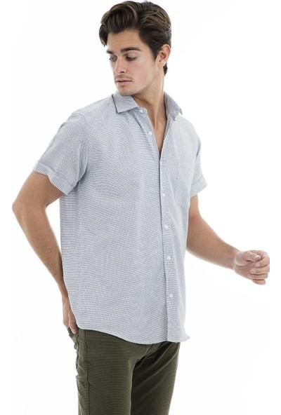 Buratti Kısa Kollu Gömlek Erkek Kısa Kollu Gömlek 50140