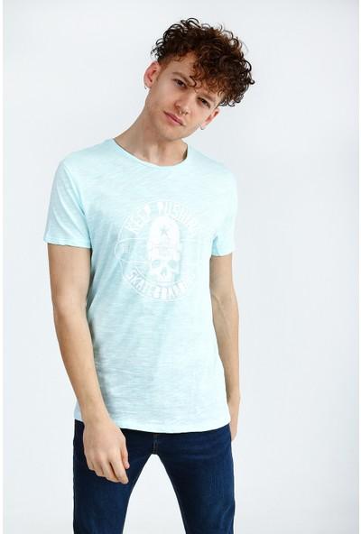 Collezione Erkek Turkuaz Regular T-Shirt
