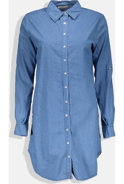 Collezione Kadın Mavi Regular Elbise