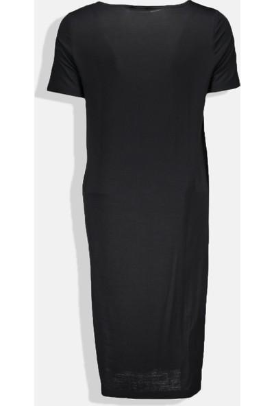 Collezione Kadın Siyah Regular Elbise
