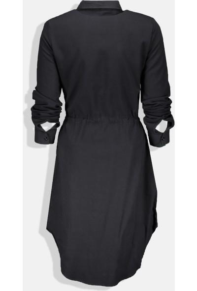 Collezione Kadın Siyah Regular Tunik