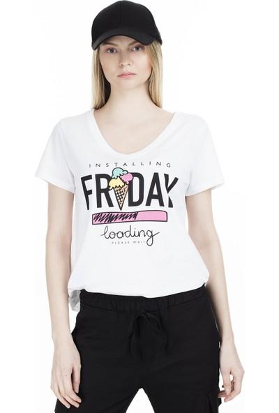 Only Onlmaya T-Shirt Kadın T-Shirt 15211926A