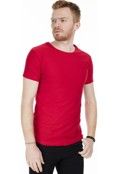 Buratti Bisiklet Yaka T-Shirt Erkek T-Shirt 538561