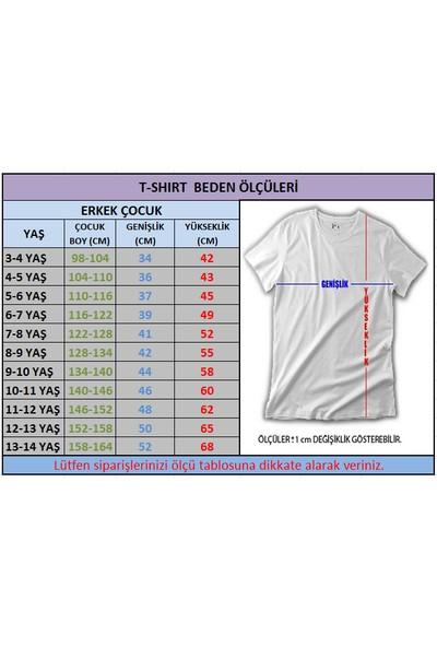 Fz Brawl Stars Spıke-2 Erkek Çocuk Beyaz T-shirt Beyaz 3-4 Yaş