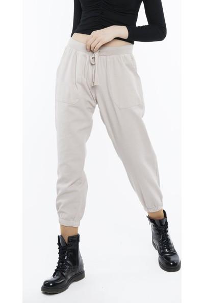Hds Hadise Taş Cepli Lastikli Pantolon 3416-1