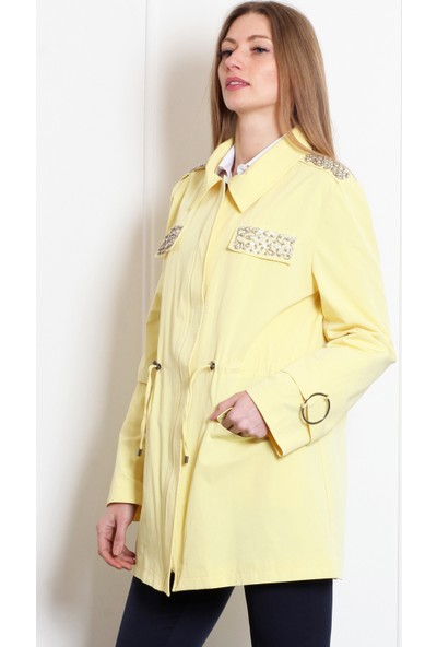 Pinkmark Kadın Sarı Trençkot
