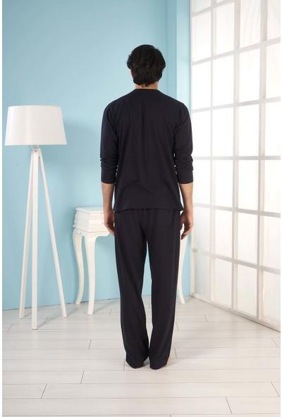Estiva Erkek Uzun Kol Pijama Takımı
