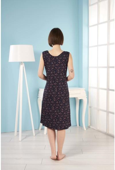 Estiva Kadın Kalın Askılı Viskon Elbise