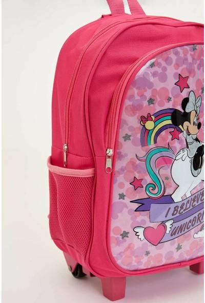 DeFacto Kız Çocuk Minnie Mouse Lisanslı Sırt Çantası