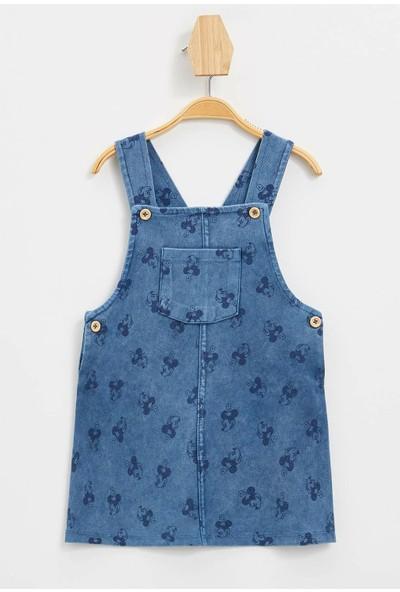 Kız Bebek Minnie Mouse Lisanslı Elbise