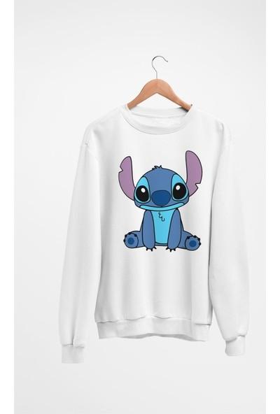 Angemiel Wear Tatlı Stitch Kadın Sweatshirt