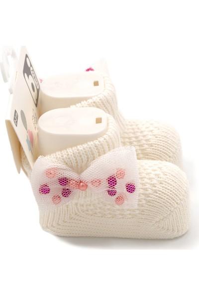Bibaby Fiyonklu Bebek Çorabı 68301