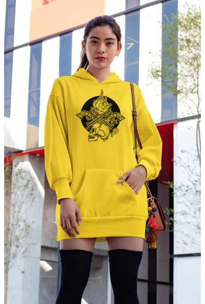 Angemiel Wear Death Elbise Sweatshirt Tunik