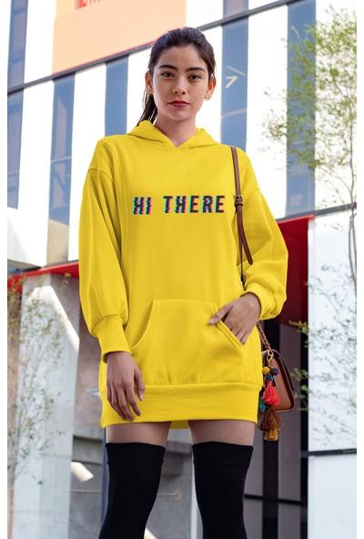 Angemiel Wear Hi There Elbise Sweatshirt Tunik