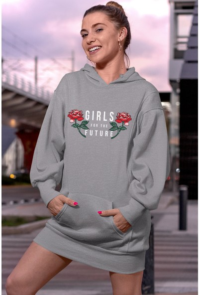 Angemiel Wear Girls For The Future Elbise Sweatshirt Tunik
