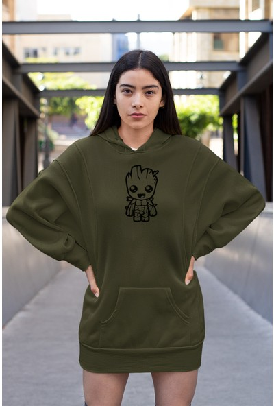 Angemiel Wear Groot Vector Elbise Sweatshirt Tunik