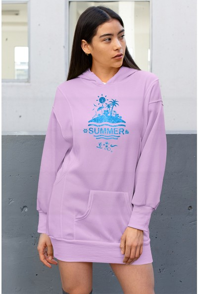 Angemiel Wear Summer Elbise Sweatshirt Tunik