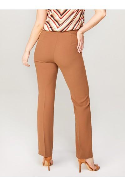 Faik Sönmez Straight Fit Krep Pantolon 60053
