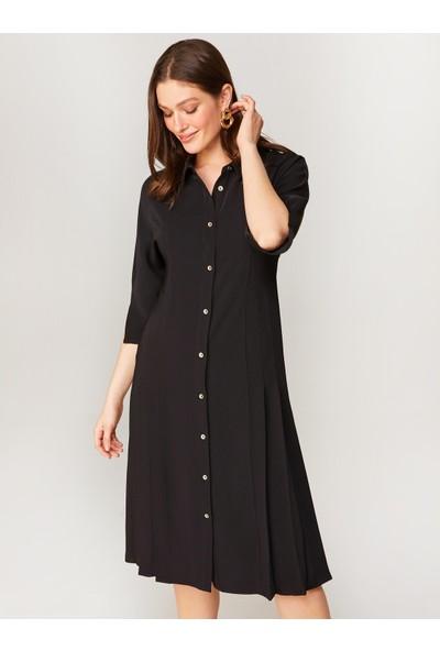 Faik Sönmez Pilise Detaylı Elbise 60261