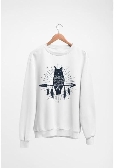 Angemiel Wear Baykuş Kadın Sweatshirt