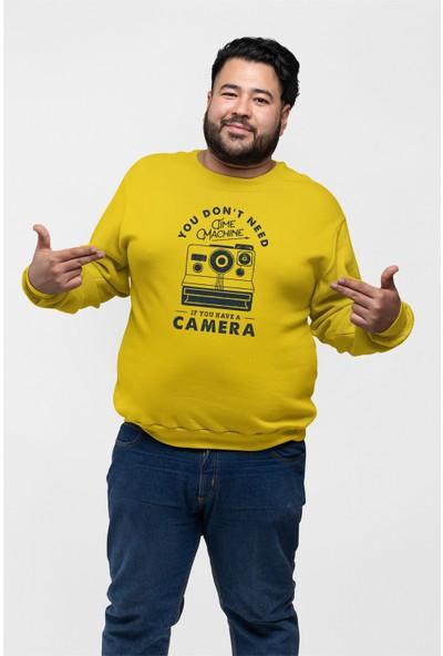 Angemiel Wear Fotoğraf Makinesi Erkek Sweatshirt