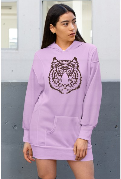 Angemiel Wear Kaplan Elbise Sweatshirt Tunik