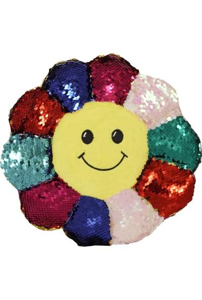 Veletto Çiçekli Sihirli Renk Değiştiren Çocuk Sırt Çantası Mor