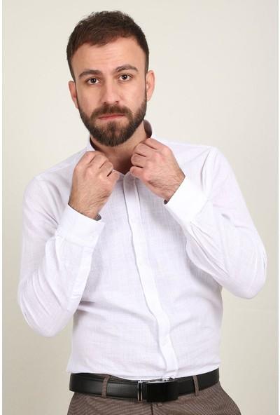 Z Giyim Erkek Gömlek Smart Fit Uzun Kol 2682ZGM20