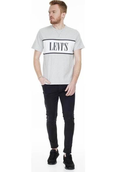 Levi's Baskılı Bisiklet Yaka T-Shirt Erkek T-Shirt 85642