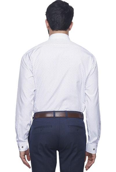 Altınyıldız Classics Erkek Regular Fit Baskılı Gömlek