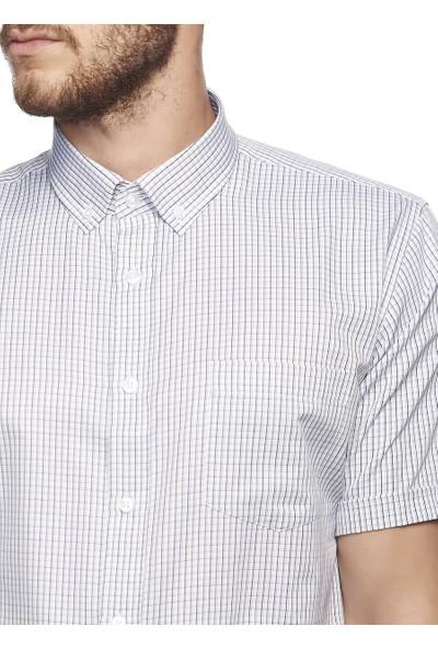 Altınyıldız Classics Erkek Regular Fit Kısa Kollu Gömlek