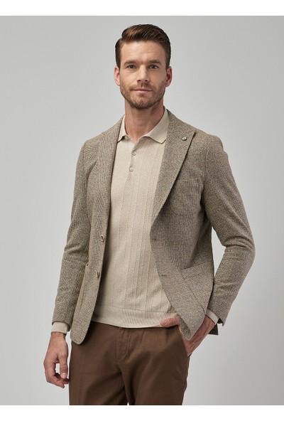 Altınyıldız Classics Erkek Slim Fit Desenli Ceket