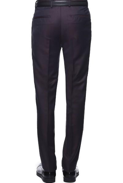 Altınyıldız Classics Slim Fit Desenli Klasik Pantolon