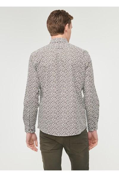 Altınyıldız Classics Erkek Tailored Slim Fit Baskılı Gömlek