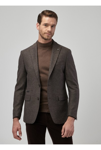 Altınyıldız Classics Limited Edition Erkek Slim Fit Desenli Ceket