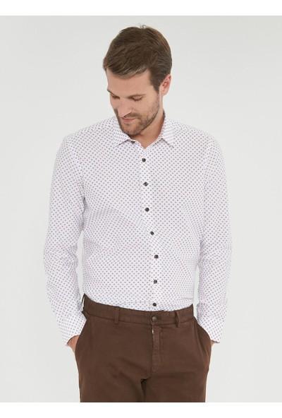 Altınyıldız Classics Limited Edition Erkek Tailored Slim Fit Baskılı Gömlek