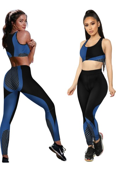 Clove Kadın Tayt Atlet Takım