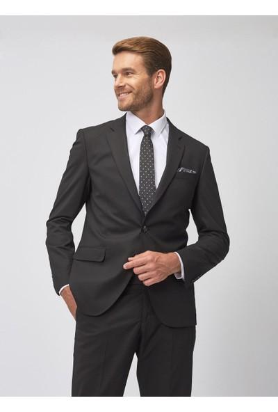 Altınyıldız Classics Erkek Regular Fit Siyah Takım Elbise