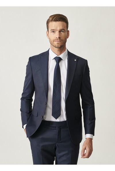 Altınyıldız Classics Erkek Slim Fit Desenli Nano Takım Elbise