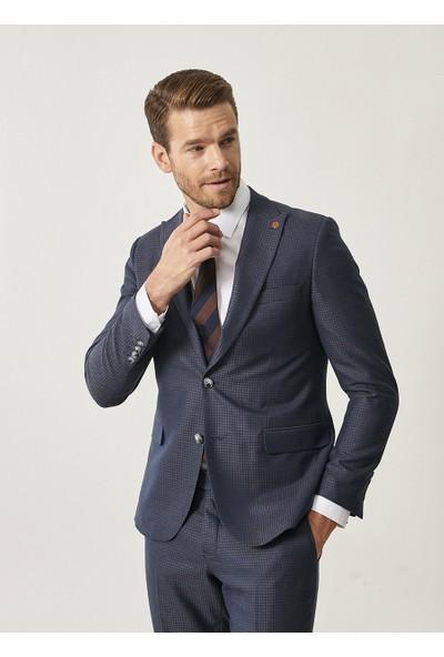 Altınyıldız Classics Erkek Slim Fit Desenli Takım Elbise