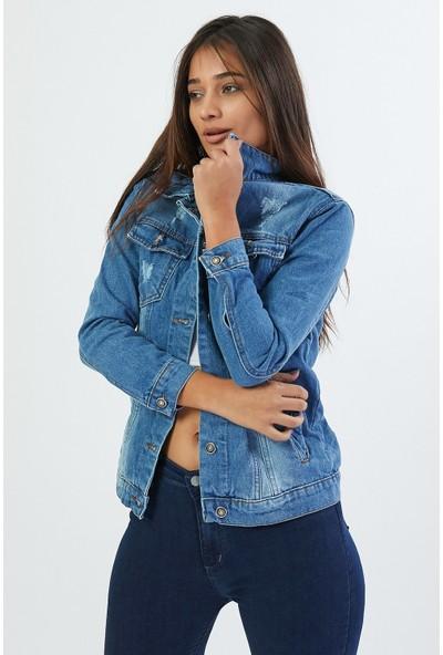 Egs Kadın Kot Ceket