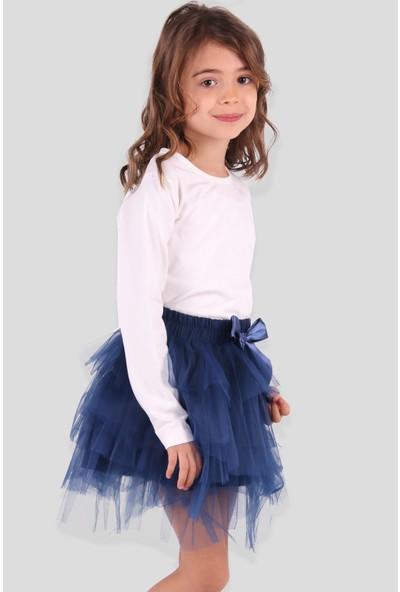 Breeze Kız Çocuk Tütü Etek Lacivert (9-12 Yaş)